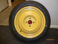 Honda Jazz Space saver spare wheel