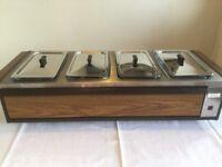 Hostess Ecko table-top warmer