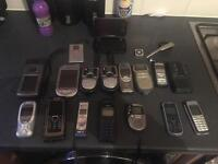 Mobile phones and voice recorders job lot