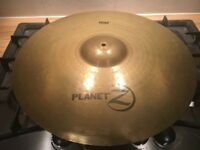 Planet Z Ride cymbal and stand