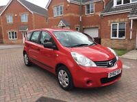 2013 NISSAN NOTE 1.5 DIESEL, MILEAGE 59000, MOT MARCH 2018, ROAD TAX £20