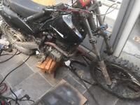 200cc off road bike not pit bike