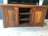 Handmade Solid Pine Sideboard / TV unit.