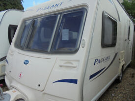 2010 Bailey Pageant Monarch Series 7 - 2 Berth Touring Caravan With Large Rear Washroom