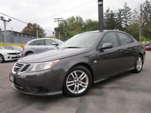 2011 Saab 9-3 2.0T~TURBO~6 SPEED~SUNROOF~LEATHER~42KMS!