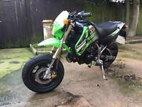 Kawasaki ksr 110 Road legal pitbike