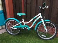 "Girls 20"" bike Apollo can deliver for a small charge"