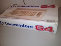 Commodore 64 computer, accessories and games