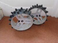 MOTO CADDY Hedgehog wheels
