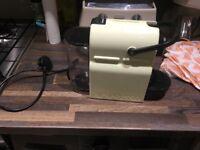Nespresso coffee machine for sale - good condition