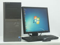 Dell PC Computer Tower Intel i5 5Ghz 8GB DDR3 RAM 320 GB HDD Refurbished Fresh Install Win 7
