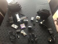 Panasonic camcorder bundle with extras!
