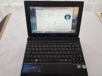 """Samsung N150 10.1"""" Notebook Atom N450 1.66GHz 1GB RAM 250GB HDD Win 7"""