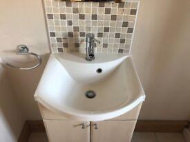 Bathroom Cabinet / Sink / Taps / Mirror
