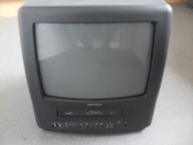 "FREE DAEWOO 14 "" PORTABLE TV / VHS COMBI"