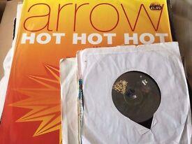 """25x 12"""" & 7"""" 90s Pop Dance Vinyl Records Bulk Collection"""