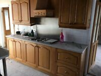 Full or part kitchen with appliances for sale