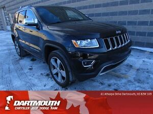 2015 Jeep Grand Cherokee LIMITED/LEATHER/8.4 TOUCH SCREEN DISPLA