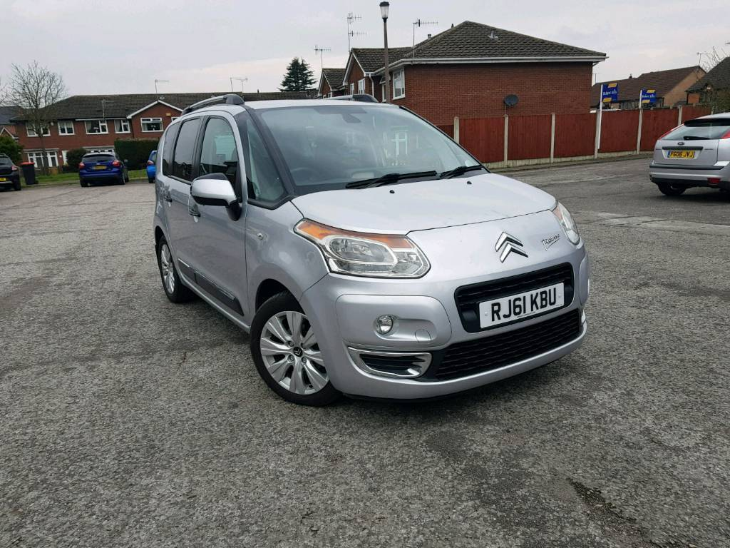 citroen c3 picasso exclusive 1 6 diesel manual in. Black Bedroom Furniture Sets. Home Design Ideas
