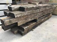🃏Used Wooden Railway Sleepers