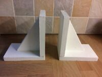Handcrafted Modern Wooden Book Ends
