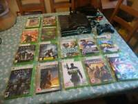 Xbox 360 Slim s Halo limited edition console + games