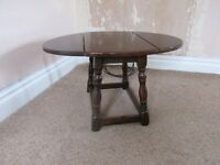 Drop Leaf Coffee Table by Locks of London(similar to Old Charm)