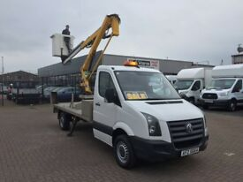 November 2009 Volkswagen crafter cherry picker £8995 j&ft&v mallusk