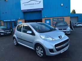 2010/60 PEUGEOT 107 1.0 PETROL 5dr # GENUINE LOW MILEAGE # 12 MONTHS MOT # VERY TIDY # CAT S