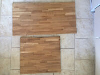 Solid Oak Worktop Offcuts 2.6mm thickness