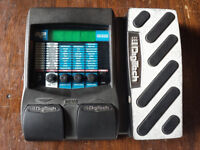 Digitech RP250 guitar multi effects pedal