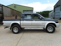 Mitsubushi L200 4Life 4x4 2005 2.5 TD 6 Mths MOT Great Truck Only Used At Stables