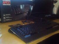 SteelSeries APEX [RAW] Backlit Gaming Keyboard