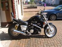 V Max, very low mileage with lots of extras