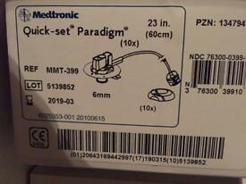 Medtronic pump quick sets 6mm