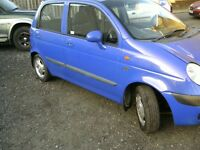DAEWOO MATIZ IDEAL LEARNER CAR OR RUNNERABOUT