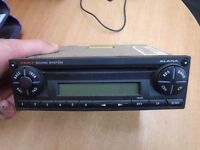 2003 SEAT IBIZA RADIO STEREO CD PLAYER 6L0035156