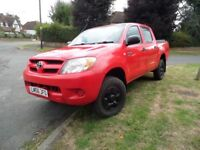 Toyota Hilux 2.5 D4D Double Cab Manual 2007 56 Reg 1 Company Owner £3795