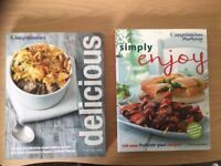 Weight Watchers books and autobiography books - 1 £ each