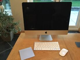 IMAC 21.5 LATE 2012 INCLUDES WIRELESS KEYBOARD & MOUSE AND MAGIC TRACKPAD