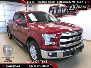 Used 2016 Ford F-150 Lariat- Heated/Cooled Leather, Heated Steer