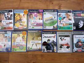 PS2 & 14 Games