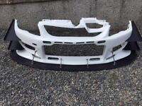 C west front bumper evo 8 or 9
