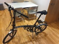 Folding Bike with 8 speeds (Carrera Intercity)