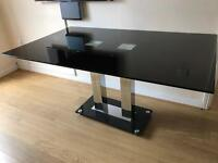 Glass Dinning Table For 6