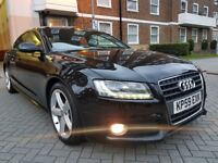 AUDI A5 2.0 TDI S LINE 5DR FULL SERVICE HISTORY CAMBELT KIT DONE LONG MOT PERFECT CONDITION