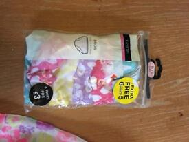 Girls knickers 12-18 months