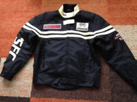 Hein Gericke Unisex textile motorcycle jacket MENS Size SMALL or ladies 10 post