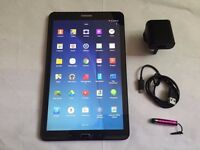 Samsung Galaxy Tab E Wifi 16GB, 9.6 In- Mint condition