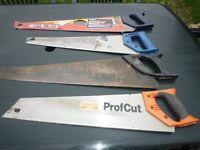 4 Various wood saws